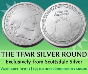 The TFMR Silver Round