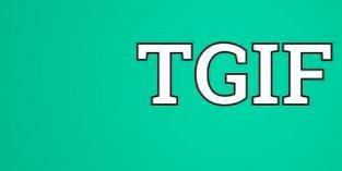 Alright, It's Friday!!